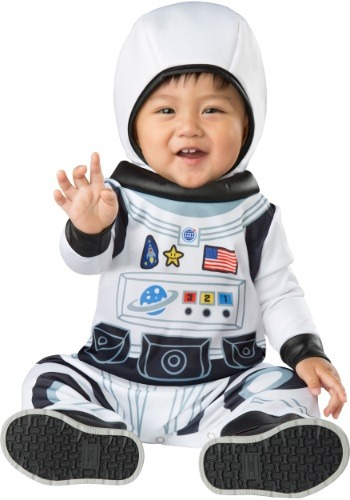 Click Here to buy Astronaut Tot Costume for Babys from HalloweenCostumes, USA Funds & Shipping