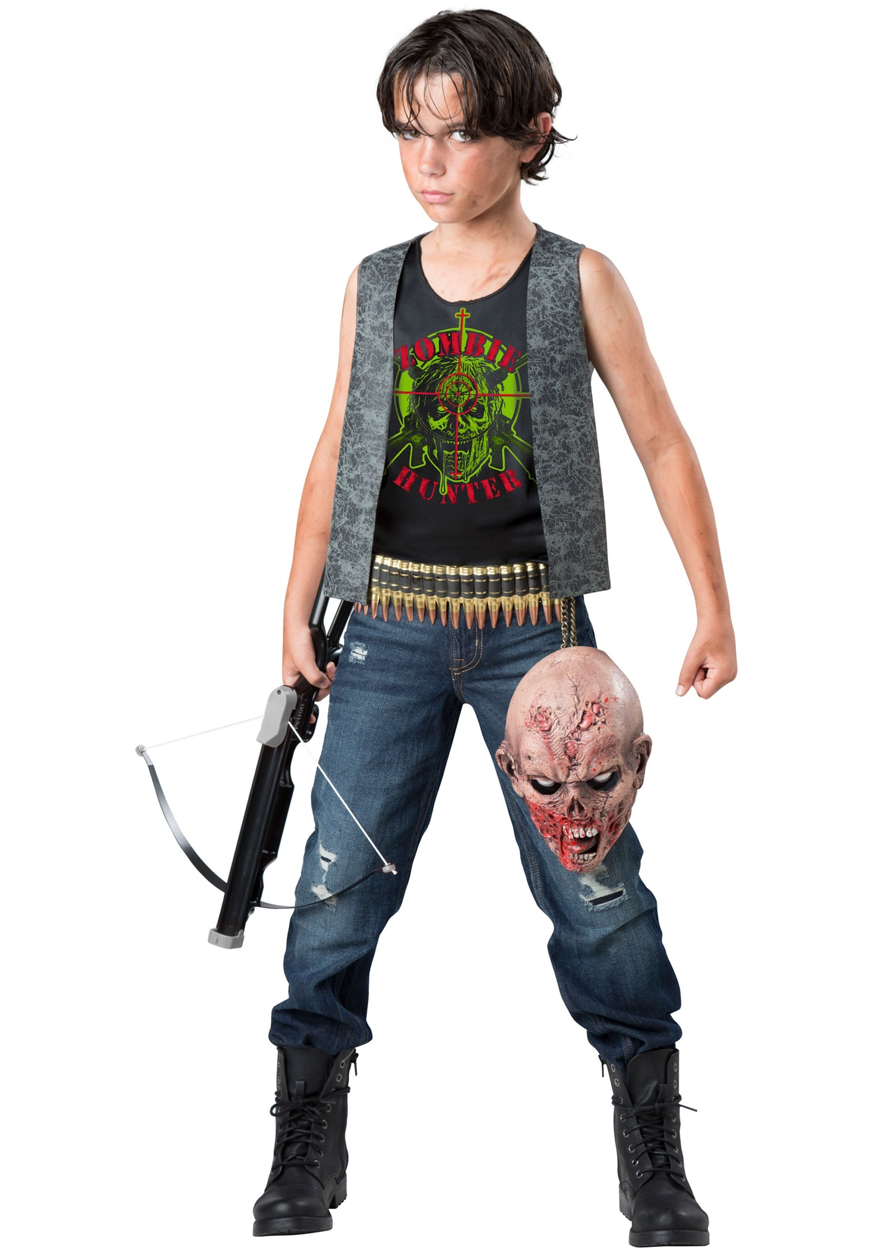 Zombie costumes walking dead costumes halloweencostumes boys zombie hunter costume solutioingenieria Image collections