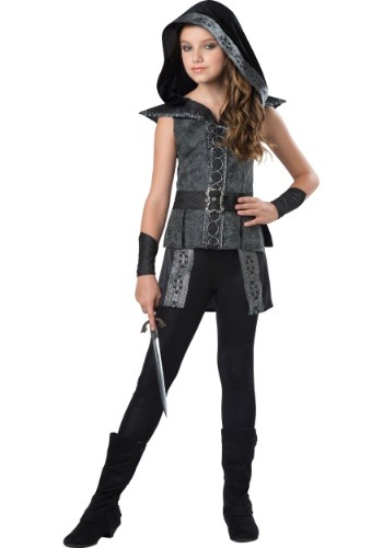 Tween Dark Woods Huntress Costume