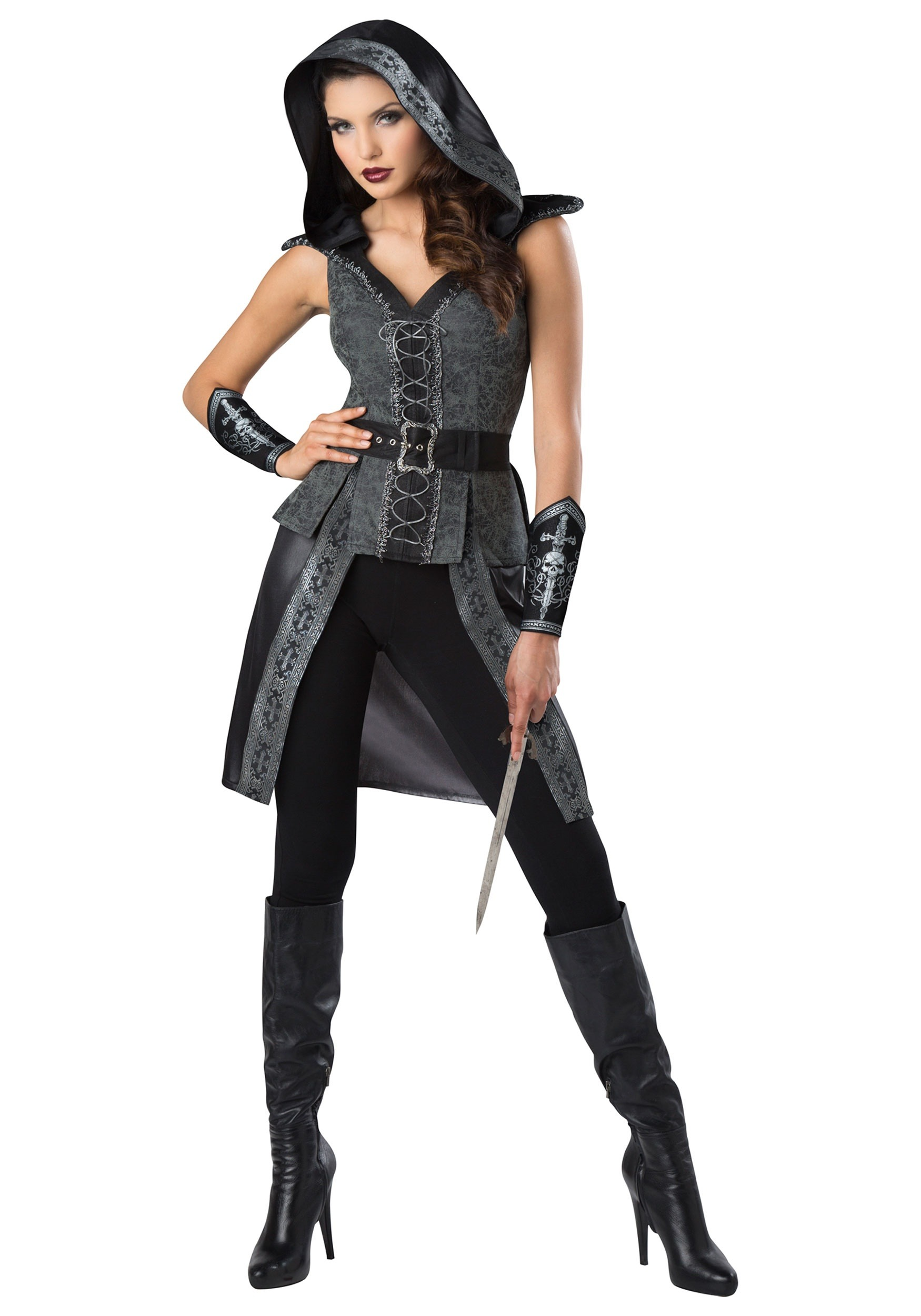 dark woods huntress women's costume