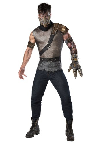 Click Here to buy Wasteland Warrior Mens Costume from HalloweenCostumes, USA Funds & Shipping