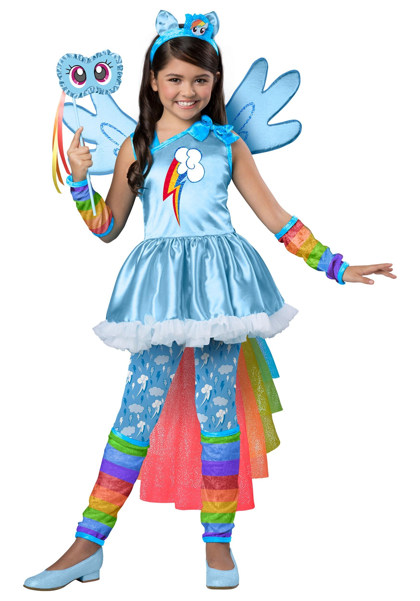 Amazoncom rainbow dash costume