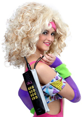 80's Cell Phone Wristlet