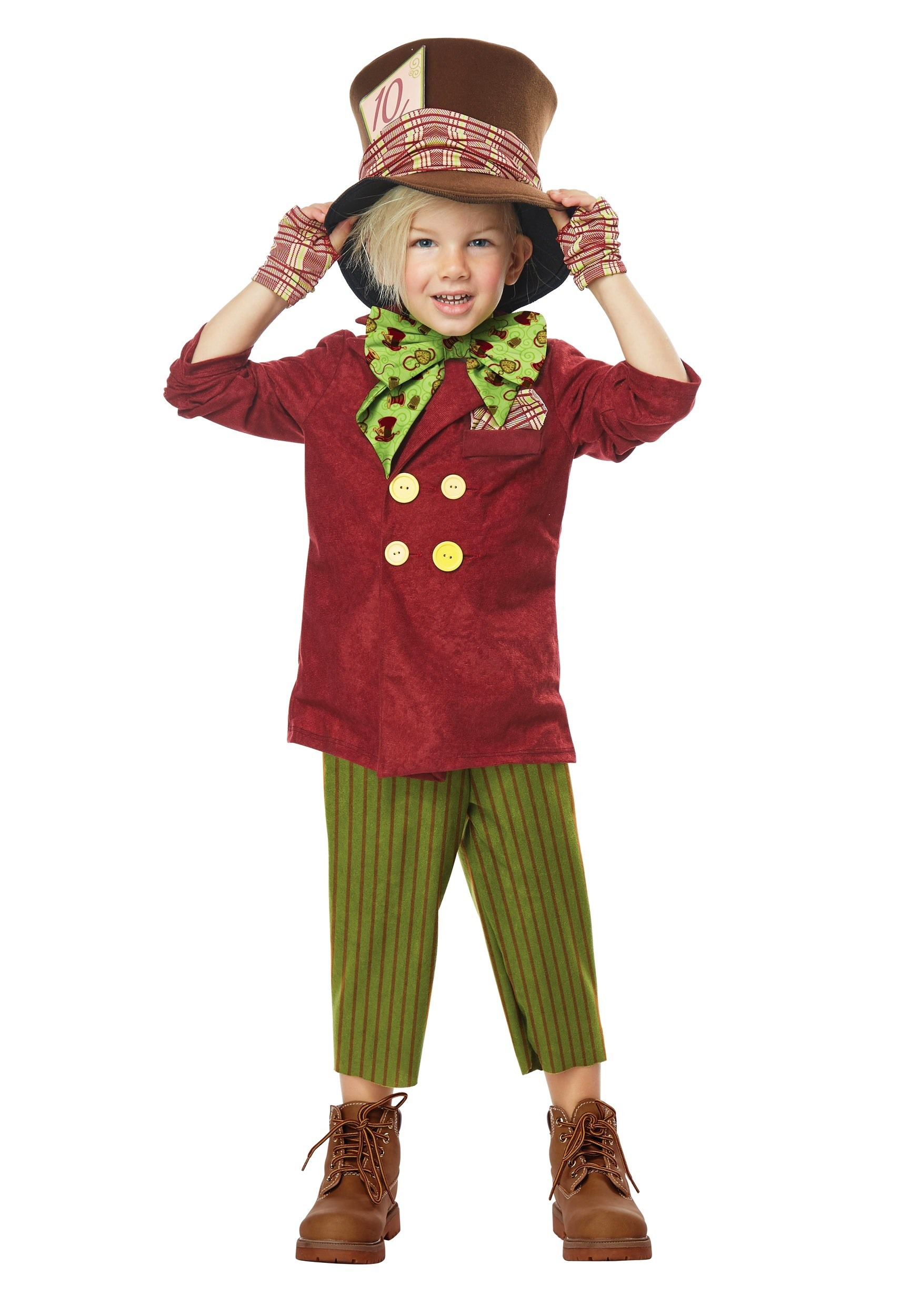 Lilu0027 Mad Hatter Toddler Costume  sc 1 st  Halloween Costumes & Mad Hatter Costumes - Alice in Wonderland Madhatter Halloween Costume