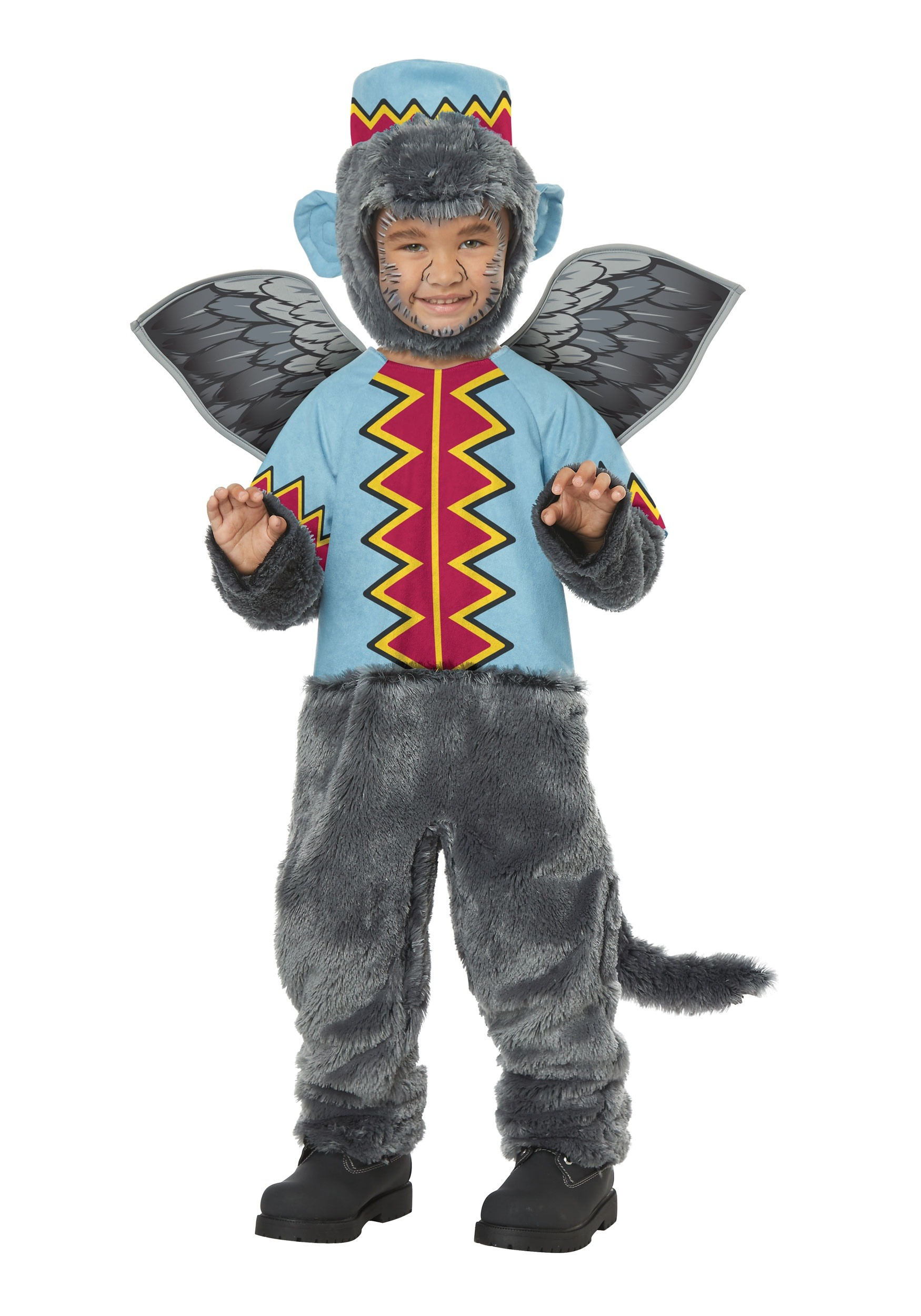 Wizard of Oz Flying Monkey Costumes - HalloweenCostumes.com