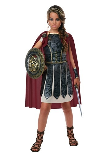 Fearless Gladiator Costume for Girls