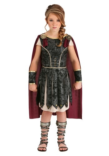 Fearless Gladiator Girls Costume