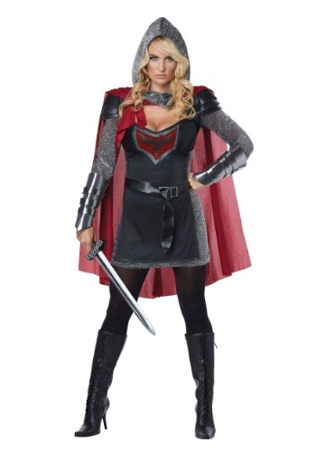 Click Here to buy Valorous Knight Womens Costume from HalloweenCostumes, USA Funds & Shipping