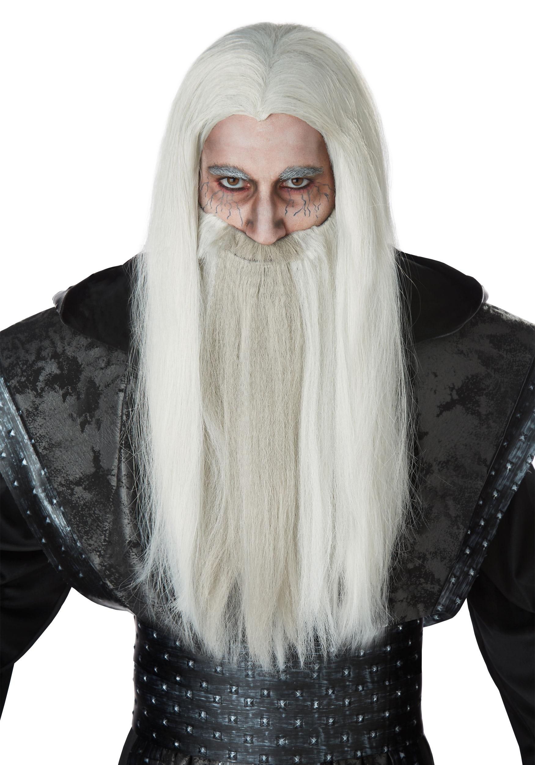 Grey Witch Wigs