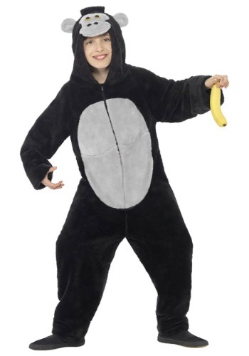 Click Here to buy Gorilla Kids Costume from HalloweenCostumes, CDN Funds