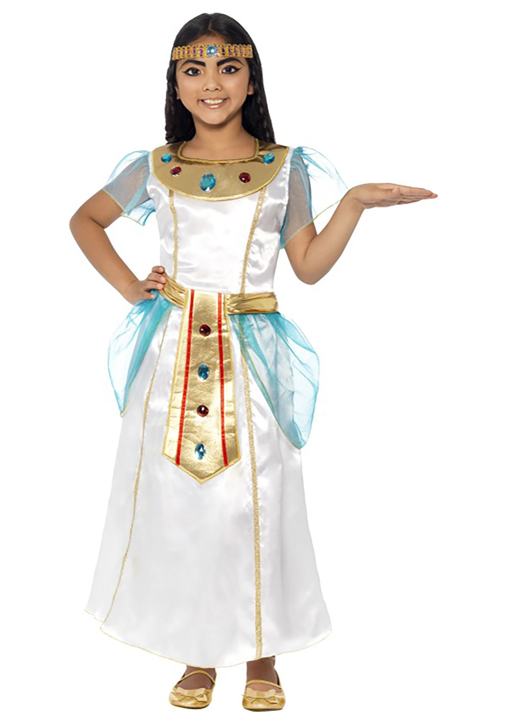 Girls Cleopatra Costume  sc 1 st  Halloween Costumes & Cleopatra Girls Costume