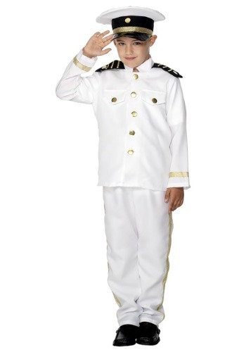 Boys Captain Costume