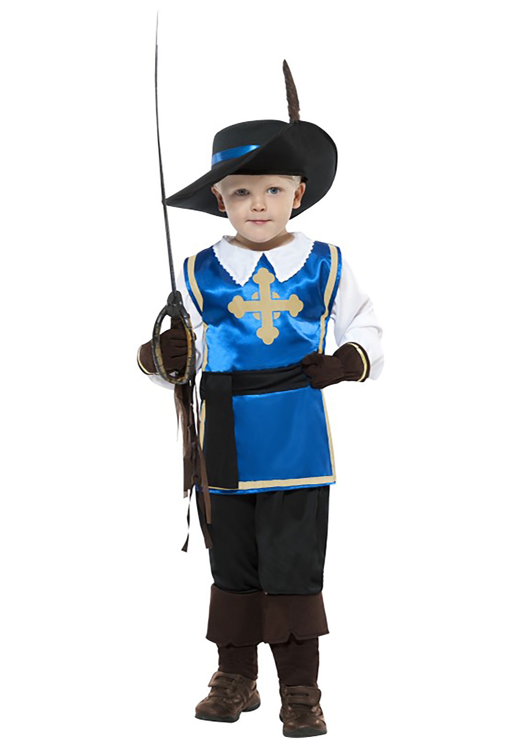 Kids Musketeer Costume  sc 1 st  Halloween Costumes & Musketeer Costumes - Adult Kids Three Musketeers Costume