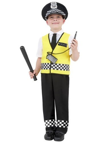 Image of Boys Cop Costume