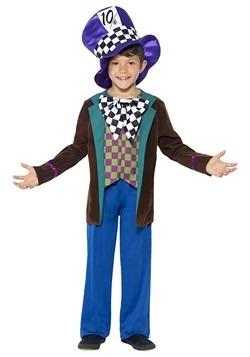 Boy's Crazy Hatter Costume