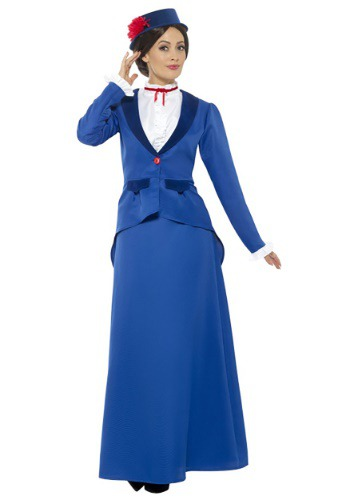 Click Here to buy Ladies Singing Nanny Costume from HalloweenCostumes, USA Funds & Shipping