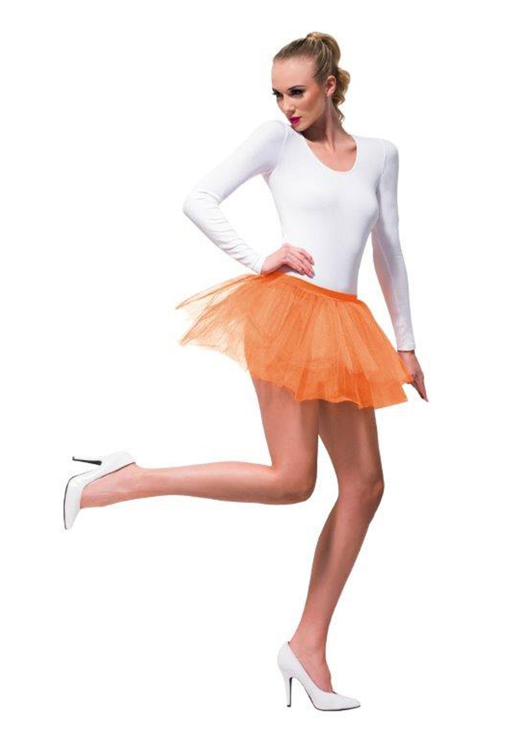 ddf239a8998 Women's Orange Tutu
