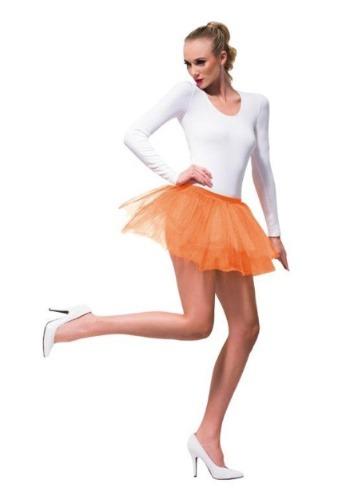 Womens Orange Tutu
