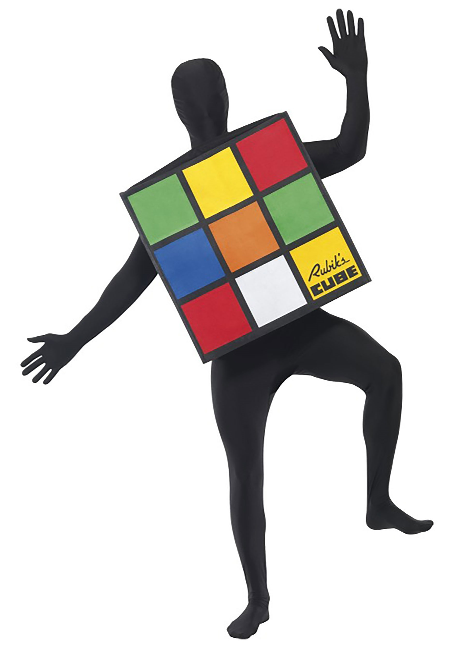 Rubik's Cube Costume for Adults SM33663