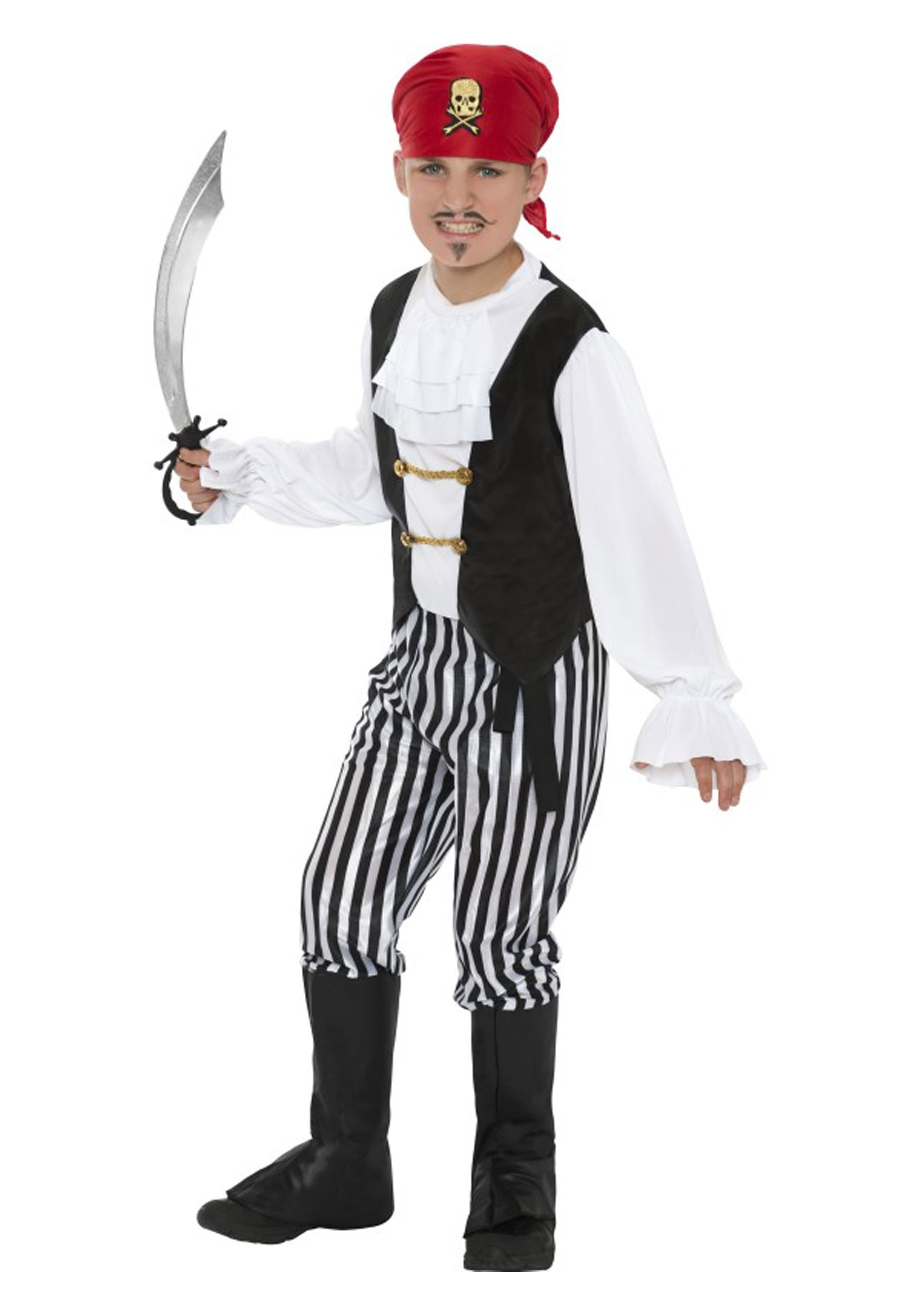 Boy's Pirate Costume SM25761