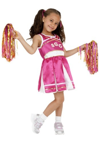 Click Here to buy Cheerleader Girls Costume from HalloweenCostumes, USA Funds & Shipping
