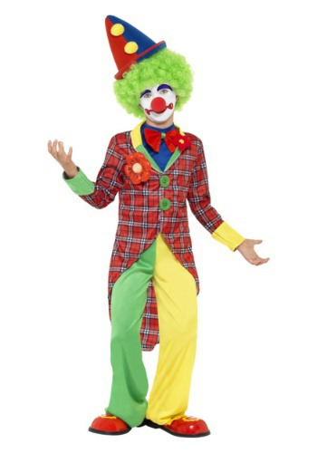 Click Here to buy Kids Clown Costume from HalloweenCostumes, USA Funds & Shipping