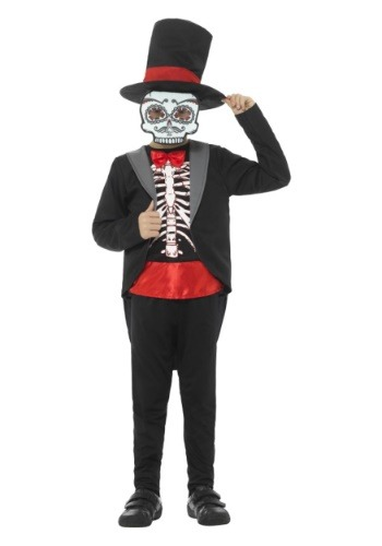 Click Here to buy Day of the Dead Boys Costume from HalloweenCostumes, USA Funds & Shipping