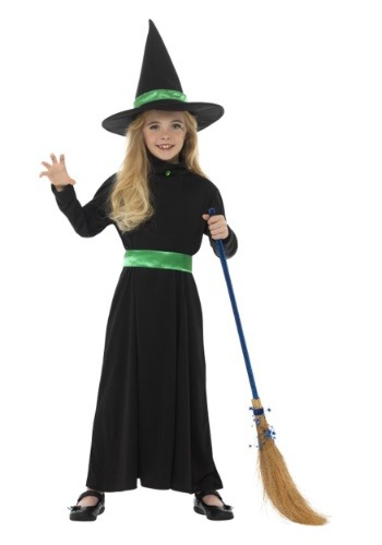 Click Here to buy Basic Witch Girls Costume from HalloweenCostumes, USA Funds & Shipping