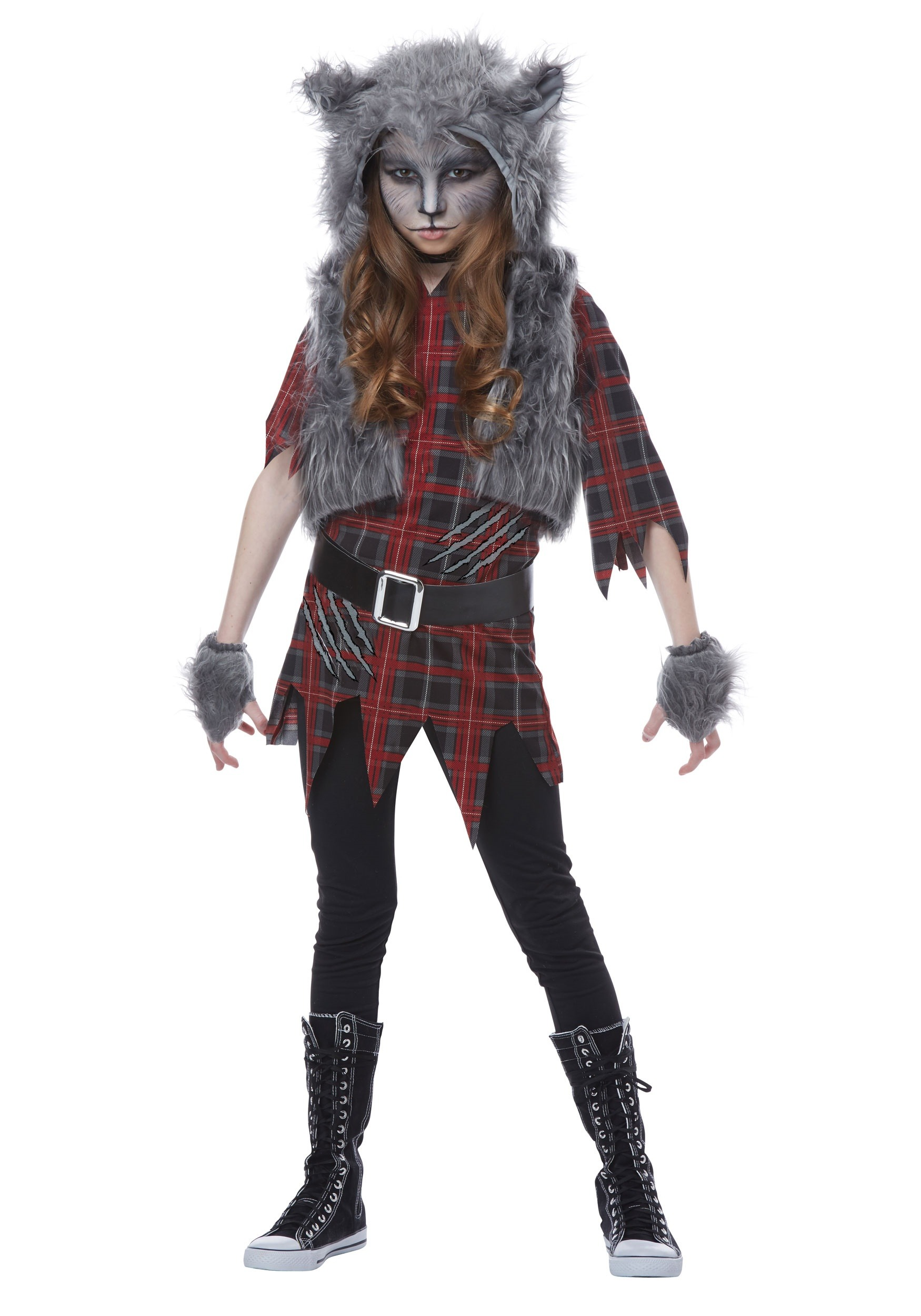 Girls Werewolf Costume  sc 1 st  Halloween Costumes & Werewolf Costume for Girls