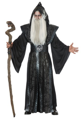 Click Here to buy Dark Wizard Mens Costume from HalloweenCostumes, CDN Funds