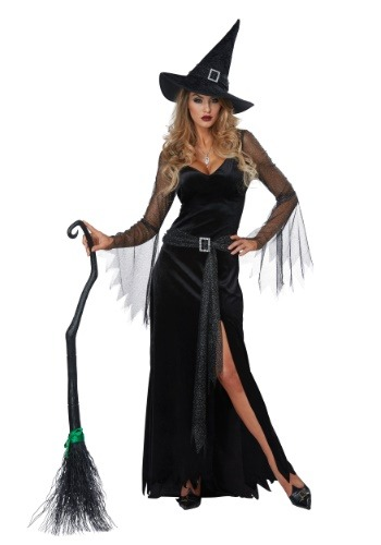 Click Here to buy Rich Witch Womens Costume from HalloweenCostumes, CDN Funds