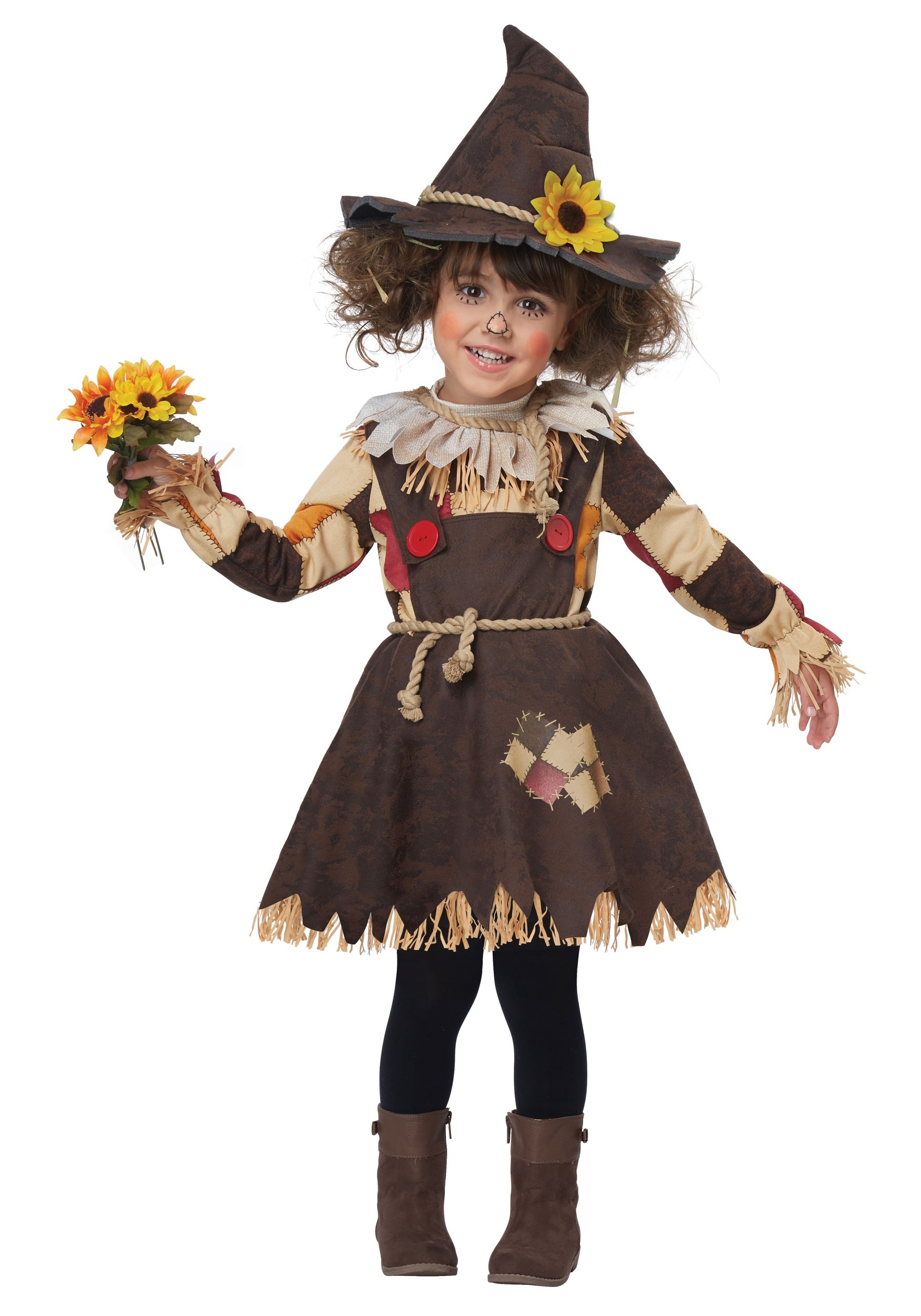 girls toddler pumpkin patch scarecrow costume - Scottish Girl Halloween Costume