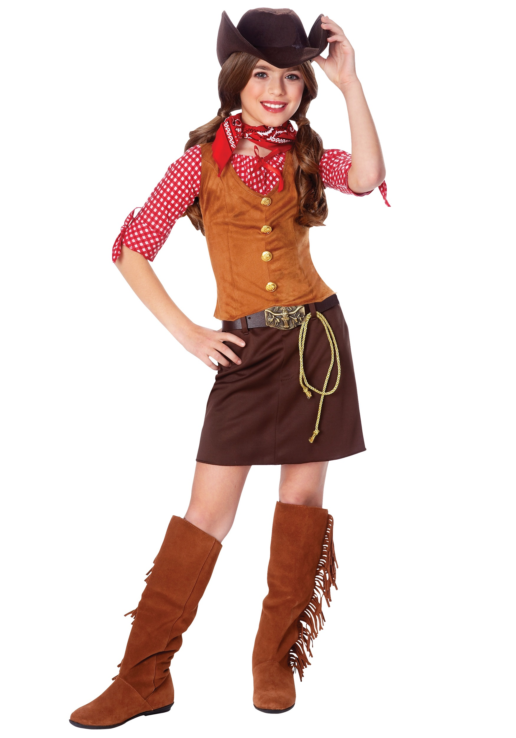 Cowboy costume for girls - photo#3