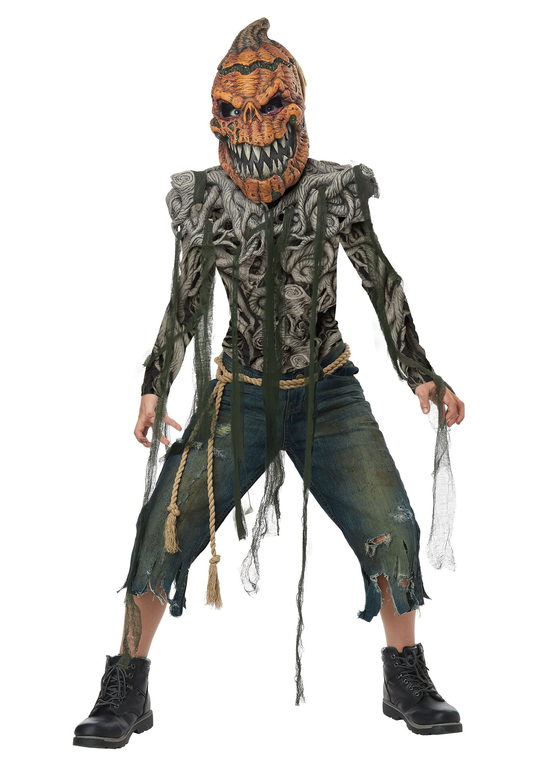 pumpkin head boys costume - Accessories For Halloween Costumes