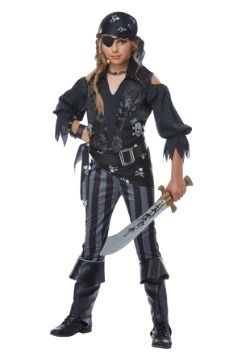 Girls Rebel Pirate Costume