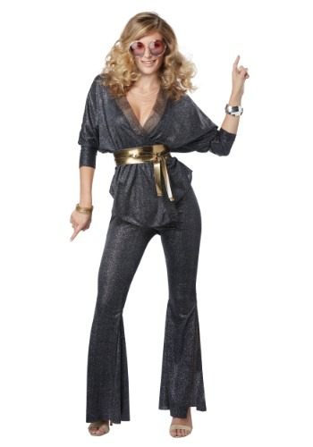 Click Here to buy Disco Dazzler Womens Costume from HalloweenCostumes, CDN Funds