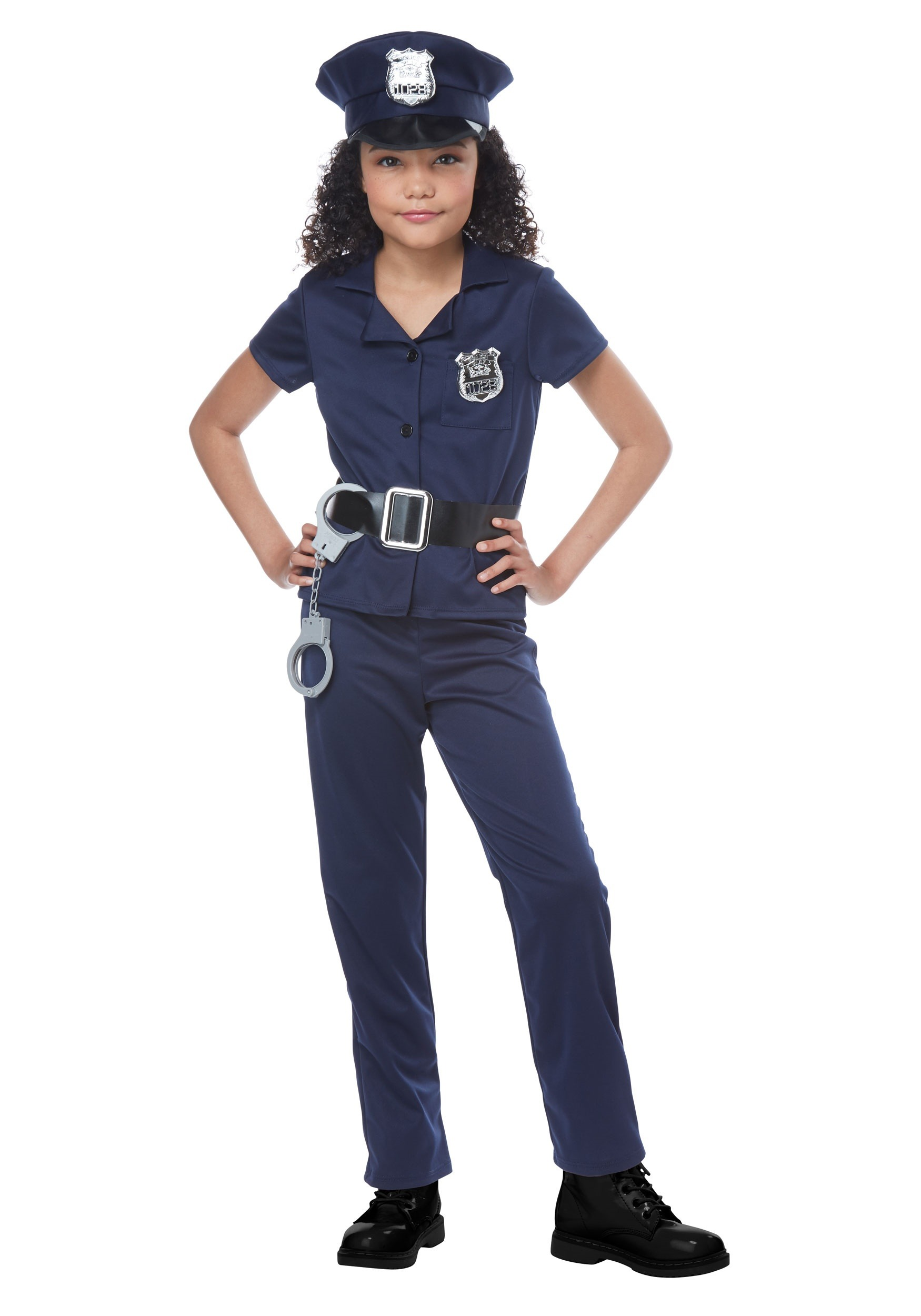Cool cop costume for girls for Cool halloween costumes for kids girls