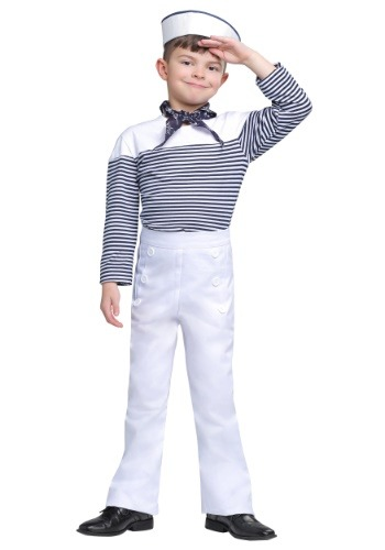 Boys Vintage Sailor Costume