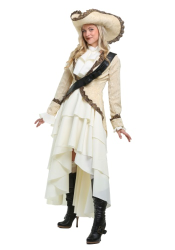 Click Here to buy Captivating Pirate Plus Size Womens Costume from HalloweenCostumes, CDN Funds