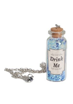 Alice Potion Bottle Necklace