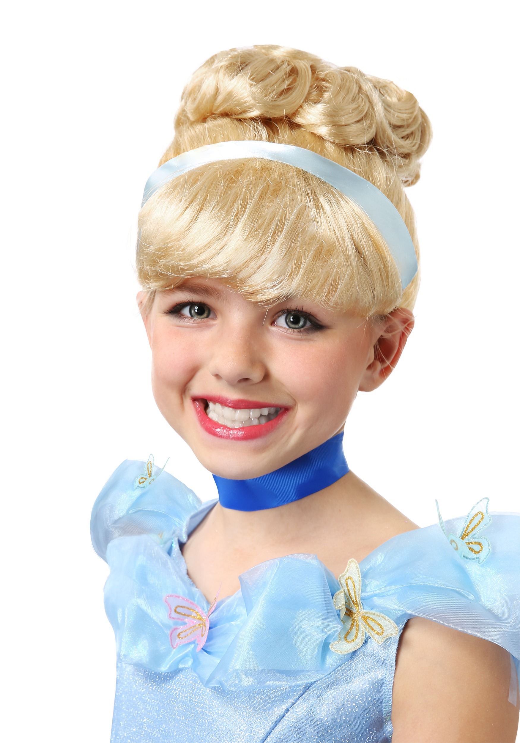 Cinderella Wig For Girls