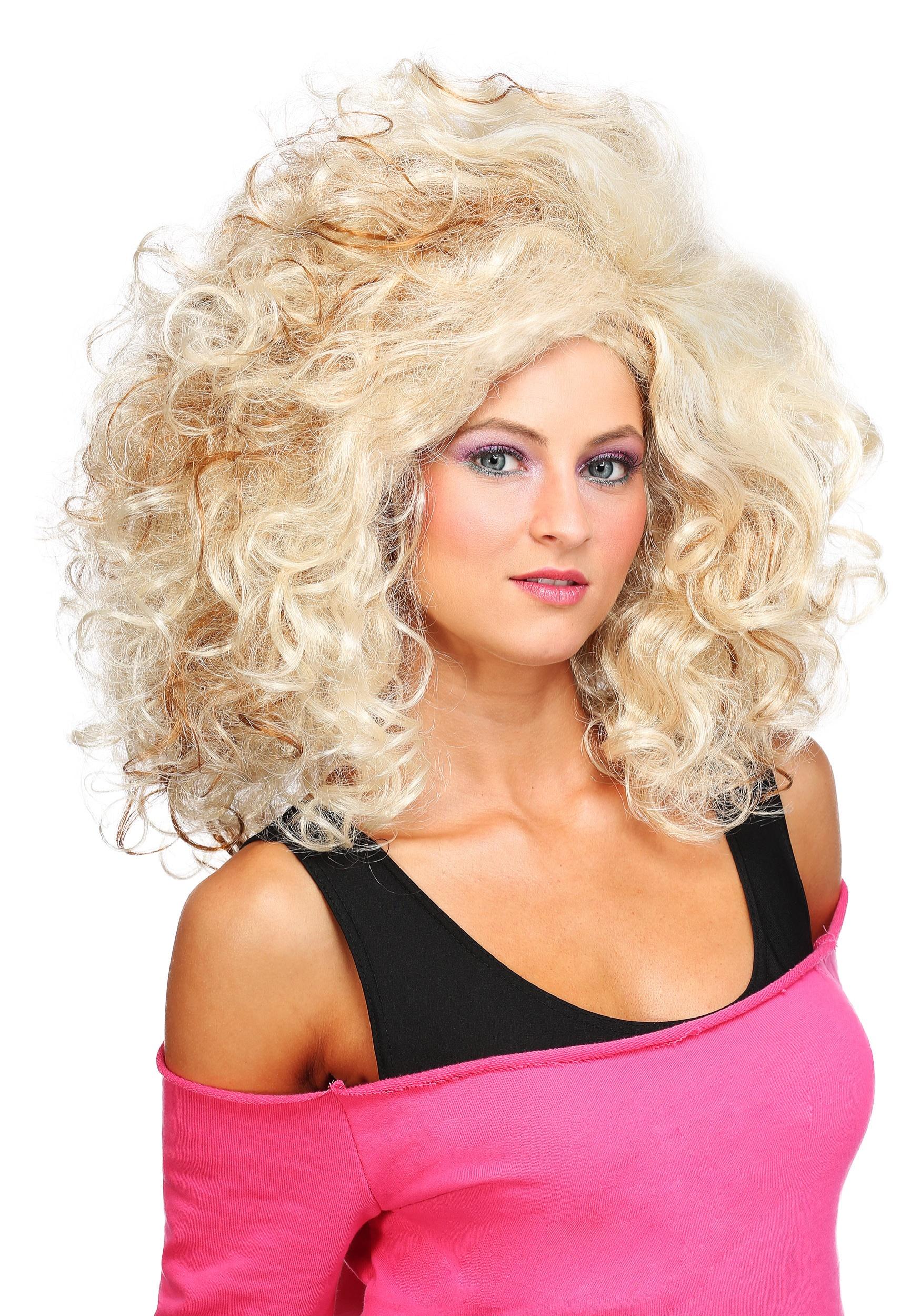 Women s 80 s Glamour Wig 4b05dc64fb