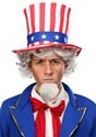 Uncle Sam Wig and Beard Kit Alt 1