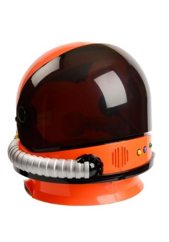 Click Here to buy Orange Astronaut Helmet for Kids from HalloweenCostumes, USA Funds & Shipping