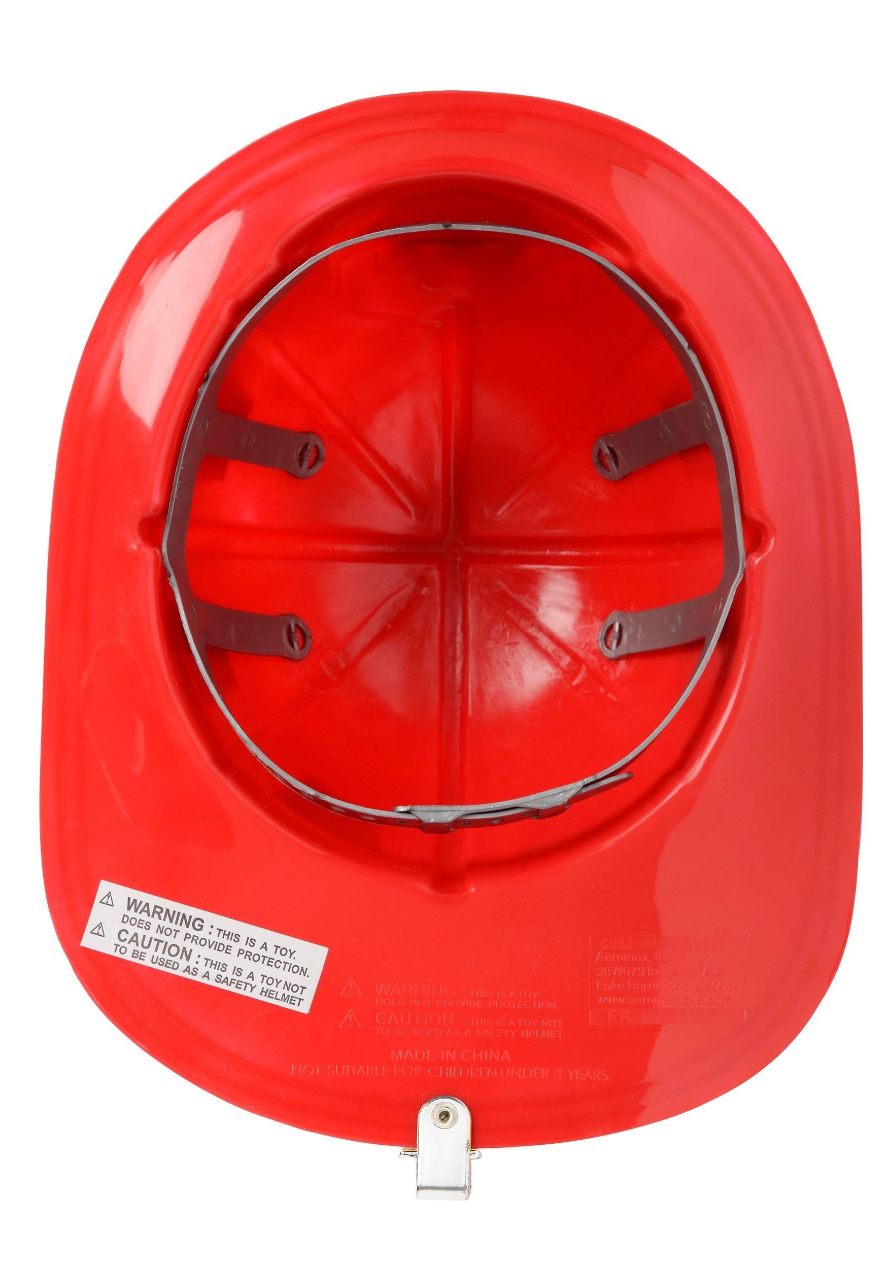 kids basic firefighter helmet