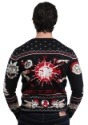 Adult Rick and Morty Happy Human Holiday Knit Sweater