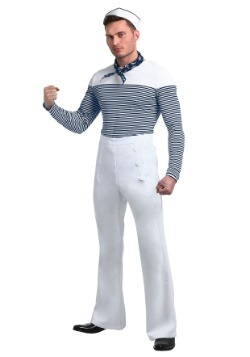 Vintage Sailor Men's Plus Size Costume