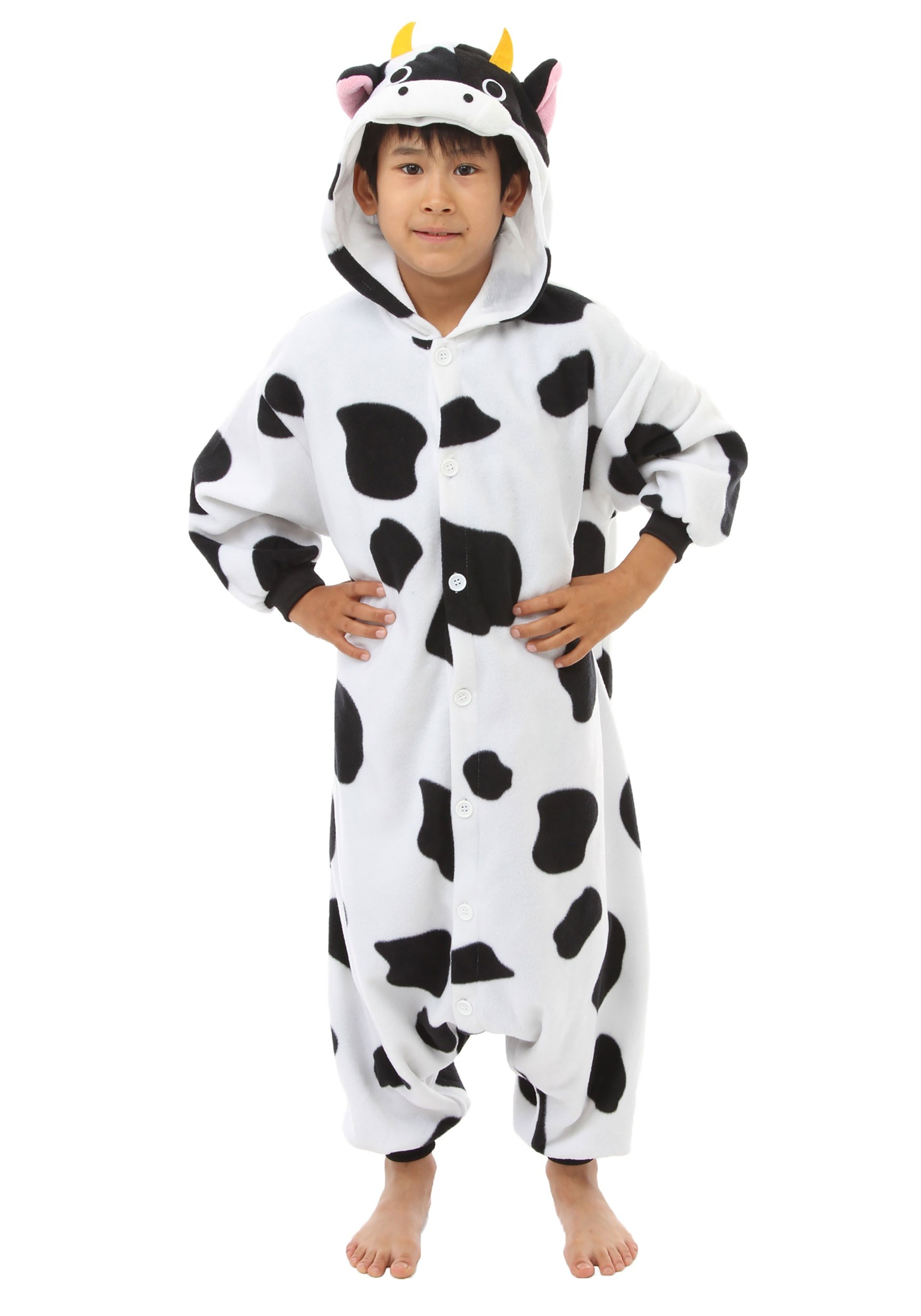 Child Cow Kigurumi  sc 1 st  Halloween Costumes : cow costume for child  - Germanpascual.Com