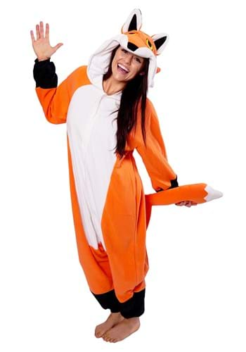 Click Here to buy Red Fox Kigurumi for Adults from HalloweenCostumes, USA Funds & Shipping