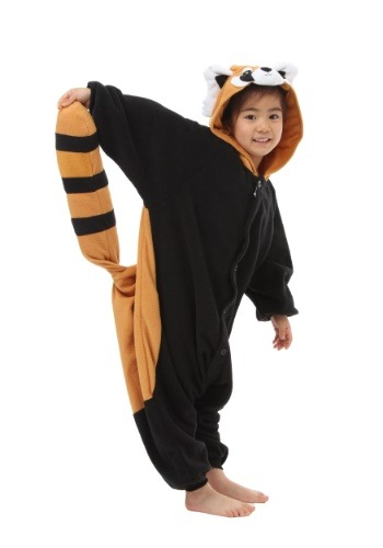 Click Here to buy Red Panda Kids Kigurumi for kids from HalloweenCostumes, USA Funds & Shipping